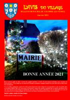 Avis du village – janvier 2021